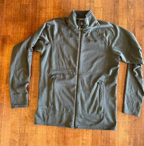 Patagonia R1 Regulator Polartec Grid Fleece Pullover  Jacket Gray - Size Large