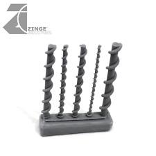 Zinge Industries Rebar Sample Pack Sprue of 5 Various High Quality S-REB01 Bits