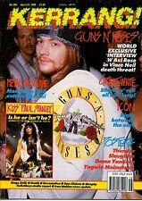 Guns N' Roses on Kerrang Cover  Kiss   Yngwie Malmsteen   Thunder   Slaughter