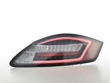 BLACK LED LIGHTBAR TAIL LIGHTS FOR PORSCHE BOXSTER 987 & CAYMAN 11/2004-12/2009