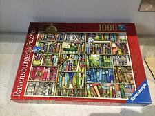 RAVENSBURGER 1000 PIECE JIGSAW Puzzle The Bizarre Bookshop