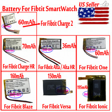 New Battery For Fitbit Charge2 /Charge HR/Fitbit One/Fitbit Alta&HR/Blaze/Versa