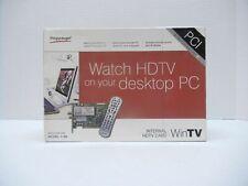 Hauppauge WinTv HVR-1600 1199 HDTV PCI Tunner Card Desktop PC Remote, Software