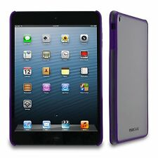 X2 Brand New rooCASE fuse iPad Mini Purple Frost Apple 7.9 Inch Snap On Case