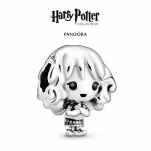 New Genuine Pandora Silver Harry Potter Hermione Granger Charm