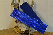 """Kirinite ™ Blu Notte Perla 3/8x1.5x6"""" Scale per Coltello rendendo e lavorazione del legno"""