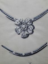 DESPRES Dessin original GOUACHE Collier Fleur BIJOU JOAILLERIE ART DECO 1930