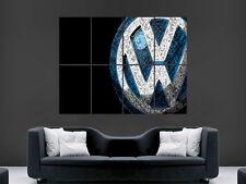 VW VOLKSWAGON Arte Astratta Immagine Enorme GRANDI FOTO POSTER GIGANTE