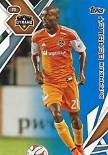 2015 Topps Major League Soccer Blue Base Parallel Card Numbered to /50 - (1-25)