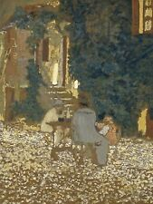 EDOUARD VUILLARD FRENCH REPAST GARDEN OLD ART PAINTING POSTER PRINT BB5229A