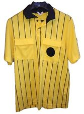 High 5 Adult Men's Yellow Soccer Referee Jersey Shirt Large M Made in the Usa