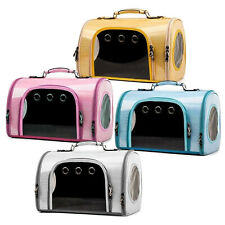 More details for pet  dog cat travel carrier carry bag - small dog cat backpack portable crate
