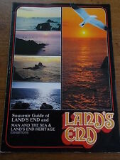 Souvenir Guide of Lands End & Man & The Sea & Heritage Exhibitions c1980s A4