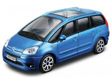 BURAGO 30222B 1:43 CITROEN C4 PICASSO 2011 BLUE METALLIC DIECAST TOY CAR BNIB