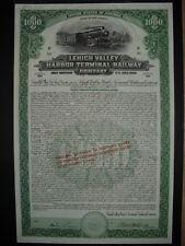 Lehigh Valley Harbor Terminal Railway Company  1924