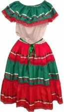 NWOT Womens Beautiful Mexican XL Dress For Any Mexican Occasion Sku# Dress-01