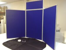 Exhibition Folding Display Boards/Stands Senior/Maxi Cheap Tabletop Exhibiting.