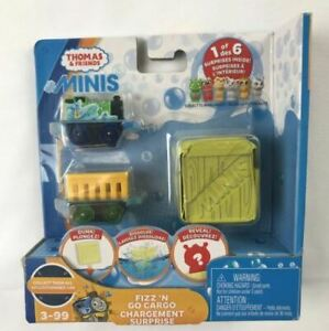 Thomas & Friends MINIS Fizz 'n Go Cargo Surprise Percy Water Toy For Kids NEW