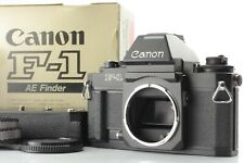 *ALMOST UNUSED in BOX* Canon New F-1 AE Finder 35mm SLR Camera + AE Winder FN