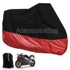 XXXL Red Waterproof Motorcycle Cover For Honda Goldwing GL 1800 1500 1200 1100