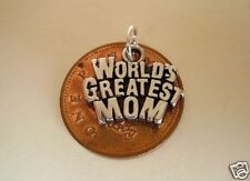 LOVELY ' WORLDS GREATEST MOM - MOTHER ' SILVER CHARM