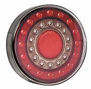 LED AUTOLAMPS STOP/TAIL INDICATOR 12 24V VOLT ROUND LED REAR LAMP MAXILAMP 1XCE