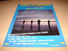ECHO & THE BUNNYMEN - HEAVEN UP !!!!FRENCH PRESS ADVERT