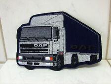 Un écusson aufbügler patch DAF trucks - 10 x 15 CM