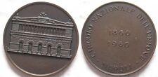 Medaglia centenario liberazione Sicilia Garibaldi risorgimento 1860-1960