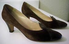 Calzaturificio di Varese Pumps, Snake & Suede, Italy Women's Size 7-1/2B Shoes