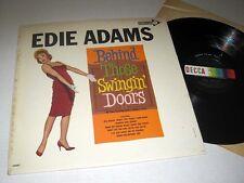 EDIE ADAMS Behind Those Swingin' Doors DECCA NM/NM-