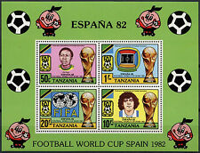 Tanzania 1982 SG#MS350 World Cup Football MNH M/S #A83004