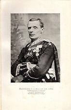 BOER WAR PORTRAITS - MAJOR GENERAL A.J. WAUCHOPE  - THE  TIMES HISTORY (1900)