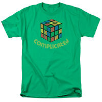 Rubick's Cube Picture COMPLICATED Adult T-Shirt All Sizes
