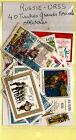 RUSSIE- URSS Pochette 40 timbres grands formats oblitérés tous différends, K40