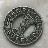 Buffalo New Jersey NJ Int Ry Co Transportation Token