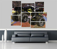 Batman and Robin Monster Truck Removable Self Adhesive Wall Picture Poster 986