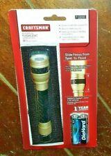 Craftsman Aluminum LED Flashlight w/Belt Holster *Spot To Flood* Model #93660