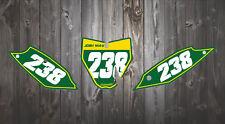 HUSQVARNA TC85 TC 85 2013 2018 Motocross fondos calcomanías/número de gráficos