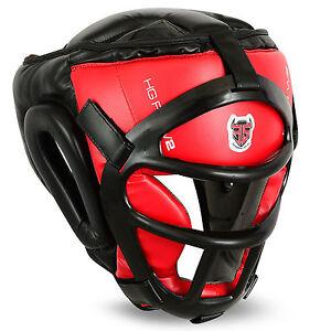Flare Grill Head Guard Bar Helmet Face MMA Protection Headgear Kick Boxing Gear