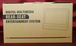 """NAVISKAUTO 10.1"""" Digital Multimedia Rear-seat Entertainment System NEU"""