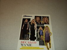 G039 COURTNEY LOVE MADONNA PALTROW PARIS HILTON '2007 FRENCH CLIPPING