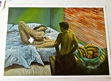 Eric Fischl Bad Boy 1981 Authorized Fine Art Poster of Nude Female and Boy-Eng
