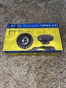 """JL AUDIO Evolution TR400-cxi 4"""" 2 Way Speaker Pair Rare"""