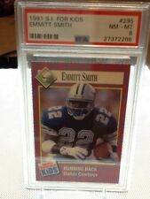 1991 Sports Illustrated for Kids Emmitt Smith #295 PSA 8