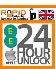 FAST FLASH UNLOCKING SERVICE EE UK T-MOBILE VIRGIN ORANGE UK IPHONE 4 5 6 6S