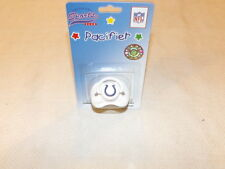 Football Indianapolis Colts NFL Licenced Infant Baby Unisex 0-6M Pacifier MIP