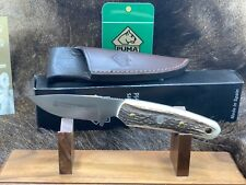 2006 Puma Pro Skinner 809020 Knife With Genuine Stag Handles Mint In Box P21++++