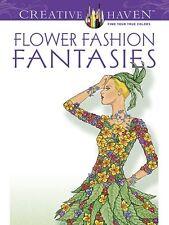 Dover Publications Flower Fashion Fantasies (Adult
