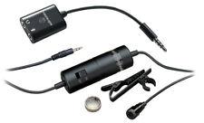 Audio Technica ATR3350iS Smartphone Tie Clip Microphone